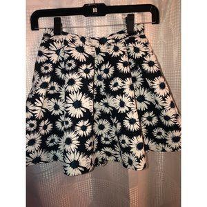 Flared mini skirt great piece !!